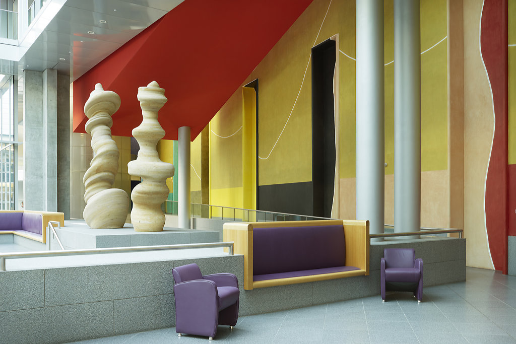 The British Embassy Berlin - Arch: Michael Wilford. 'British Embassies' by James Stourton - Courtesy Frances Lincoln